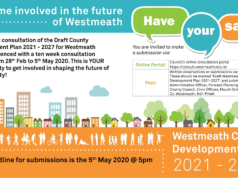 Image for Westmeath County Council have launched a public consultation on the Draft Westmeath County Development Plan.