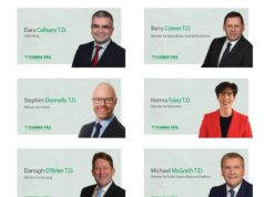 Imiage of Fianna Fail Ministers 2020