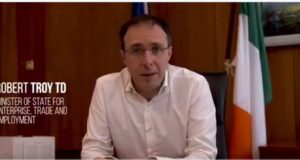 Minister Robert Troy outlines the July Stimulus Package