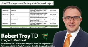 Funding approved for important Westmeath projects