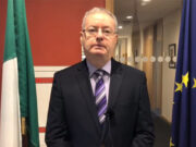 Image of Michael Moynihan discussing Committee on Disability matters